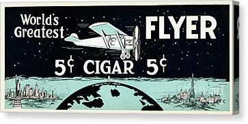 Worlds Greatest Cigar Canvas Print by Jon Neidert