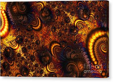 Worm Infestation Canvas Print by Clayton Bruster