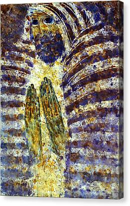 Worship B Canvas Print