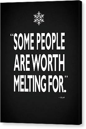 Queen Canvas Print - Worth Melting For by Mark Rogan