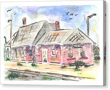 Worthington Depot Canvas Print