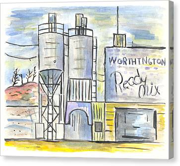 Worthington Ready Mix Canvas Print