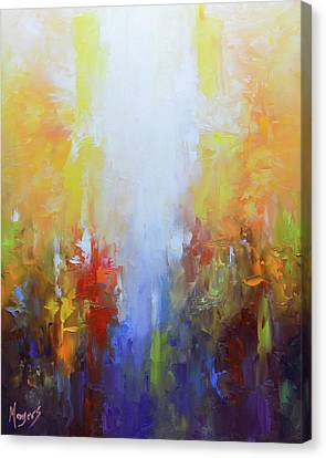 Worthy Is The Lamb Canvas Print by Mike Moyers