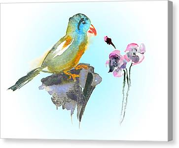 Would You Care To Dance With Me Canvas Print by Miki De Goodaboom