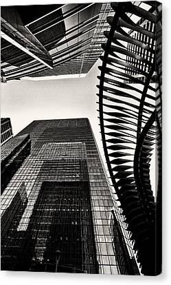 Woven  Canvas Print by Russell Styles