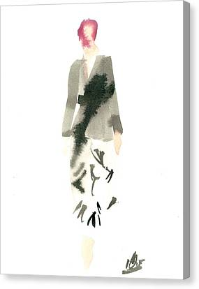 Wrap Dress Canvas Print by Carl Griffasi