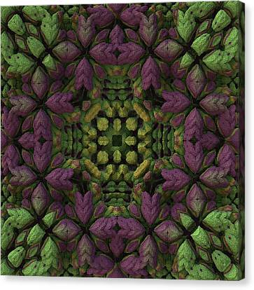 Canvas Print featuring the digital art Wreath by Lyle Hatch