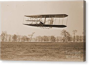 Wright Brothers Flight 85 Canvas Print by Padre Art