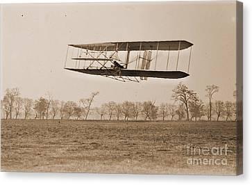 Wright Brothers Flight 85 Canvas Print