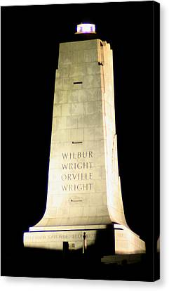 Wright Brothers' Memorial Canvas Print