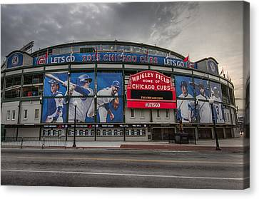 Wrigley Field Chicago Cubs Canvas Print