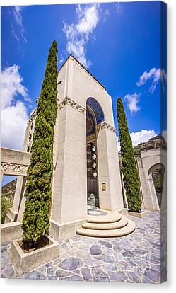 Wrigley Memorial On Catalina Island Picture Canvas Print by Paul Velgos