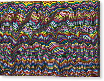 Wrinkled Canvas Print