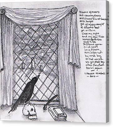 Writer's Veiw Canvas Print