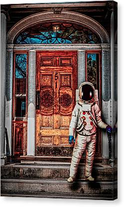 Wrong Address Canvas Print by Bob Orsillo