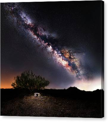 Wrong Side Of Heaven Canvas Print by Matt Smith