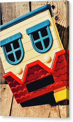 Suffering Canvas Print - Wrong Way House by Jorgo Photography - Wall Art Gallery