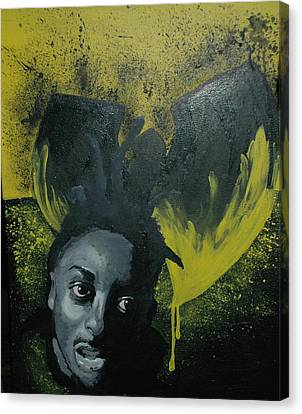 Wu Tang Killa Bee Canvas Print by Matt Burke
