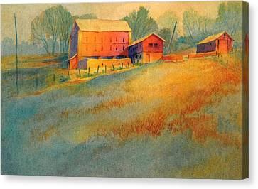 Wynnorr Farm Canvas Print by Virgil Carter