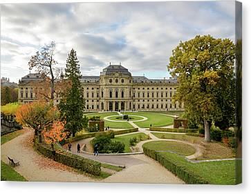 Wurzburg Residence Canvas Print by Motty Henoch