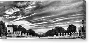 Ww Two Memorial Canvas Print by JC Findley