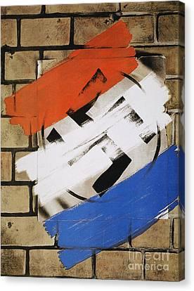Wwii: Anti-nazi Poster, 1944 Canvas Print