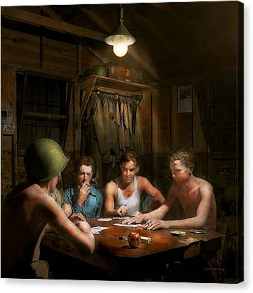 Wwii - The Card Game 1943 Canvas Print