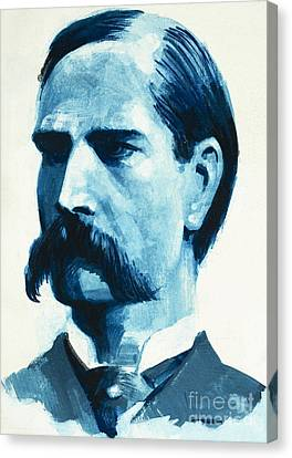 Keeper Canvas Print - Wyatt Earp by English School