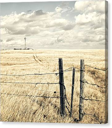 Wyoming Canvas Print by Humboldt Street