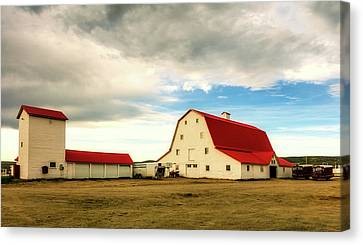 Wyoming Ranch Canvas Print by L O C