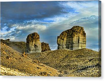 Wyoming Xi Canvas Print by Chuck Kuhn
