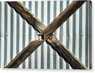 Canvas Print featuring the photograph X Marks The Spot by Karol Livote