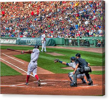 Xander Bogaerts - Boston Red Sox Canvas Print