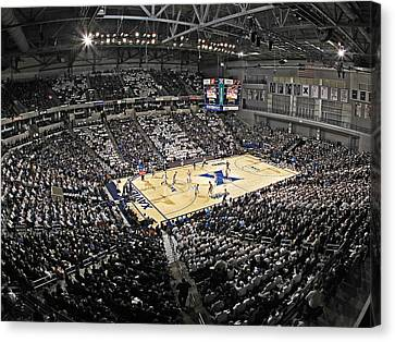Xavier Musketeers Cintas Center Canvas Print by Replay Photos