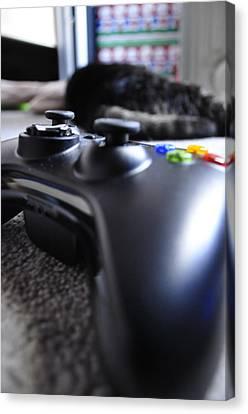Xbox 360  Canvas Print by Brynn Ditsche