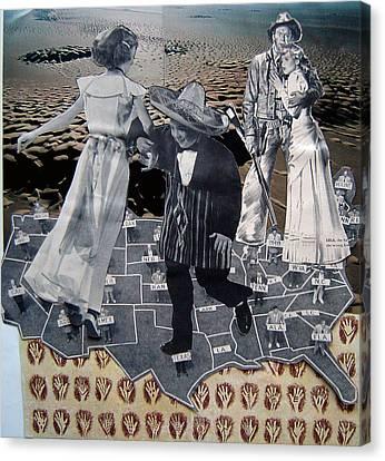 Racism Canvas Print - Xenophobia by Tom Calderon