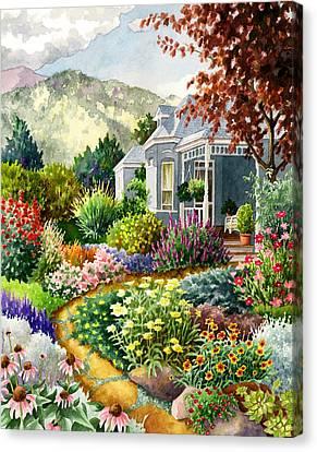 Xeriscape Garden Canvas Print by Anne Gifford