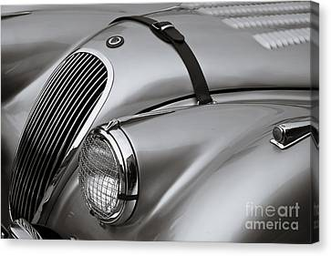 Xk 120 Canvas Print by Dennis Hedberg