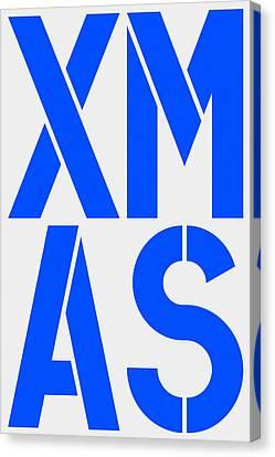 Xmas Canvas Print by Three Dots