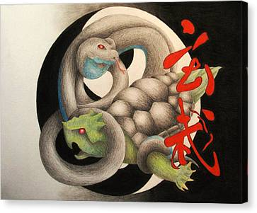 Xuan Wu Canvas Print by Lauren Cawthron
