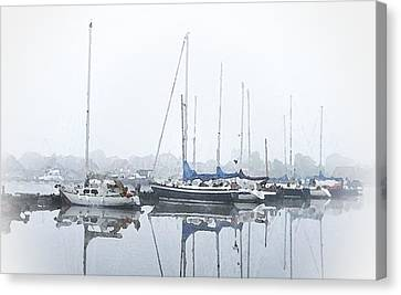 Yachting Club Canvas Print by Stefan Kuhn