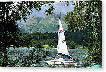 Yachting Lake Windermere Canvas Print