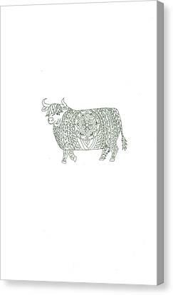 Yak  Canvas Print