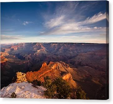 Yaki Point - Grand Canyon National Park Canvas Print