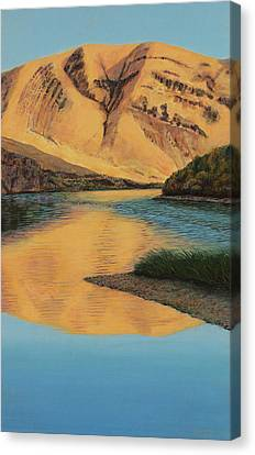 Yakima Canyon Canvas Print by Laurie Stewart