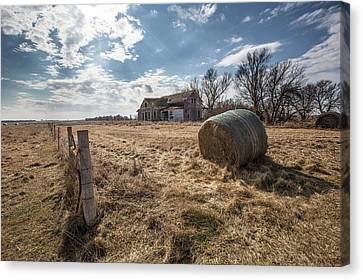 Canvas Print featuring the photograph Yale by Aaron J Groen