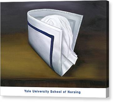 Yale University School Of Nursing Canvas Print by Marlyn Boyd