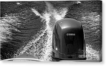 Yamaha Power Canvas Print by Olivier Le Queinec