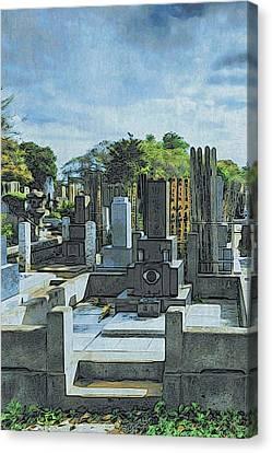 Canvas Print - Yanaka Cemetery by Steven Richman