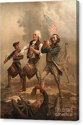 Yankee Doodle 1876 Canvas Print by Padre Art